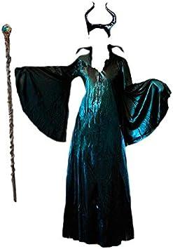 Disfraz Maléfica mujer adulto (S): Amazon.es: Juguetes y juegos