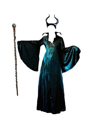 Disfraz Maléfica mujer adulto (L): Amazon.es: Juguetes y juegos