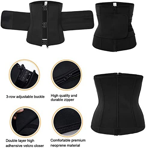 TrainingGirl Women Waist Trainer Cincher Belt Tummy Control Sweat Girdle  Workout Slim Belly Band for Weight Loss at Amazon Women's Clothing store
