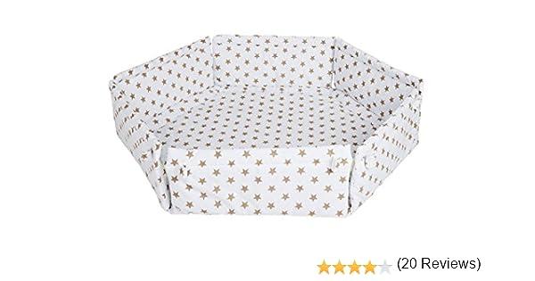 hexagonal Schardt Gris forro interior de la caja del beb/é grau
