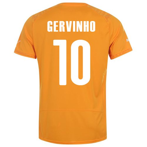 PUMA GERVINHO #10 IVORY COAST HOME JERSEY WORLD CUP 2014 (M)