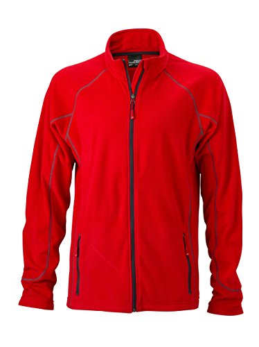Leggero Outdoor Giacca Fleece Men's Pile Red carbon In Structure Da Jacket Esterno t7w6Twcqf