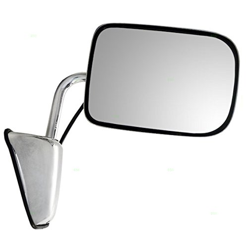 - Passengers Power Side View Chrome Mirror 6x9 Replacement for Dodge Pickup Truck SUV 55154668