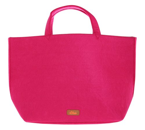 s.Oliver Damen Shopper Tote bag Pink 39-303-90-7520-PK