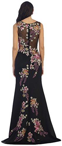 long black red carpet dresses - 2