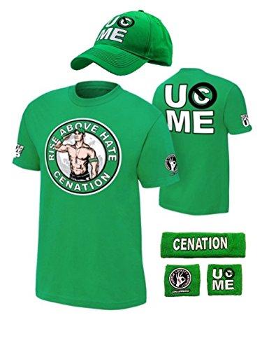 Up WWE Kids Boys Youth Costume-Green-M (8) ()