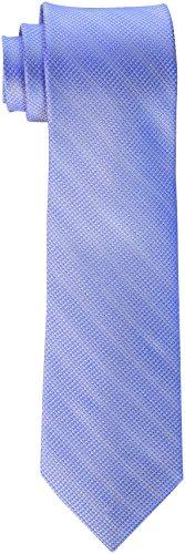 Calvin Klein Men's Solstice solid Tie, Cobalt, One Size