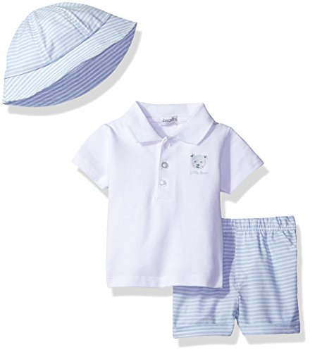 absorba Baby Boys SHORTSETS with HAT