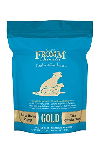 - Fromm Family Foods Gold Large Breed Puppy Dry Food (5 lb)