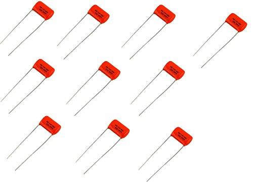 .047uf/400v Orange Drop Capacitors - 716P - Bulk Lot of Ten (10X) ()