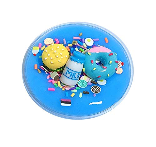 - Vertily Mochi Kawaii Hand Painting Unique DIY Burger Char Milk Slime Birthday Cake Slime Kids Relief Stress Toys Sensory Play of Hand Exercise Balls & Therapy Gift