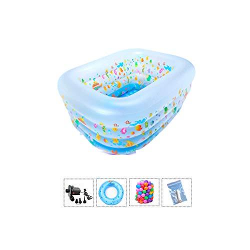 Amazon.com: ZDYG - Piscina hinchable para niños, bañera ...