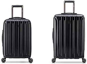 2-Piece Delsey Paris Titanium DLX Spinner Luggage Set