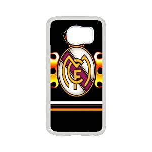 Samsung Galaxy S6 Phone Case Printed With Real Madrid Logo Images