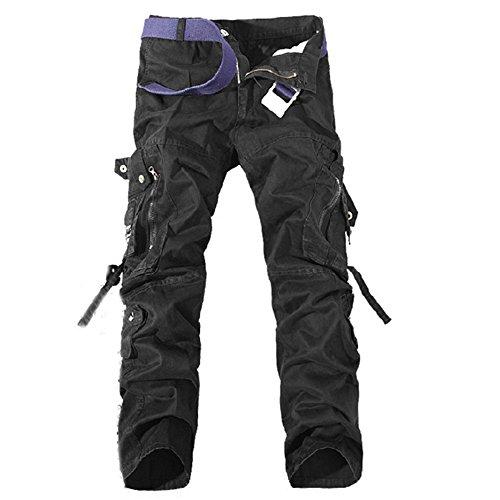 DeLamode - Pantalón corto - para hombre negro
