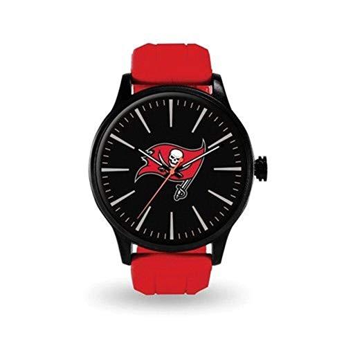 Rico Industries, Inc. Tampa Bay Buccaneers Bucs Premium Cheer Design Watch Team Color Logo Football