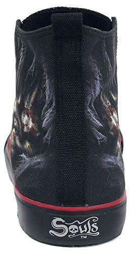 Bone Sportive Spiral Foot Nero Scarpe HCq7XvnZ