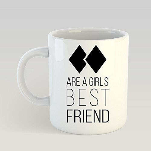 SAYOMEN - Black Diamond Ski Slogan MUG 15oz Unique coffee mug, Ceramic coffee mug, Gift for Men or Women, Funny Mug, Dad Birthday Gift - Dishwasher and Microwave -