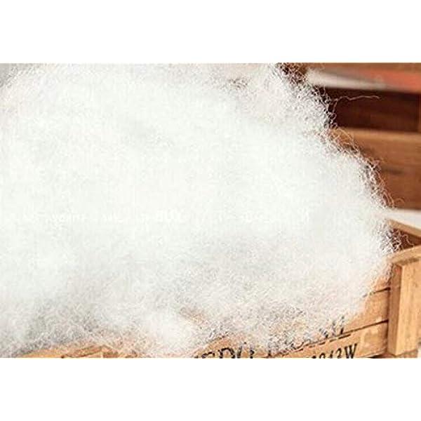 Todocama - Relleno de Microfibra 100% Poliéster - Fibra Hueca siliconada - (1 kg) - Relleno para Almohadas, Cojines y Peluches. (1 Kg): Amazon.es: Hogar