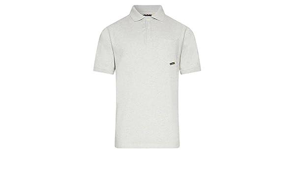 Para hombre Barbour Internacional Ariel - Camisa de Polo Gris Marl ...
