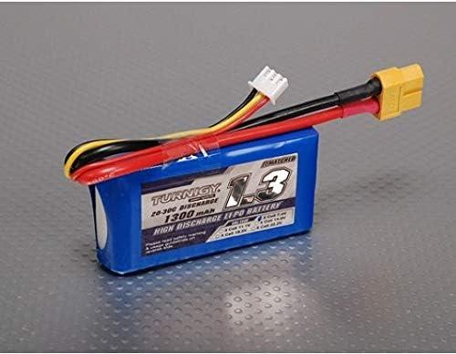 no2 Turnigy 7.4V 1300mAh 20C30C リポ バッテリー