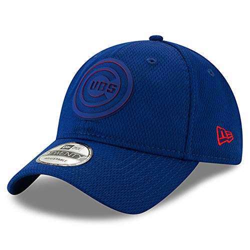 New Era Chicago Cubs 2019 Clubhouse Collection Adjustable Hat/Cap