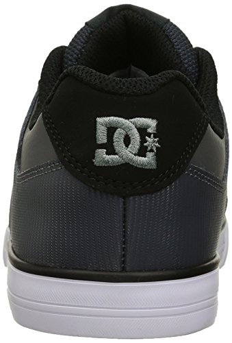 DC–joven pura elástica Zapatos Grey-Black-Grey