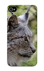 Fireingrass BnuKIl-3014-WZWXL Protective Case For Iphone 5/5s(Eurasian Lynx Eurasischer Luchs) - Nice Gift For Lovers