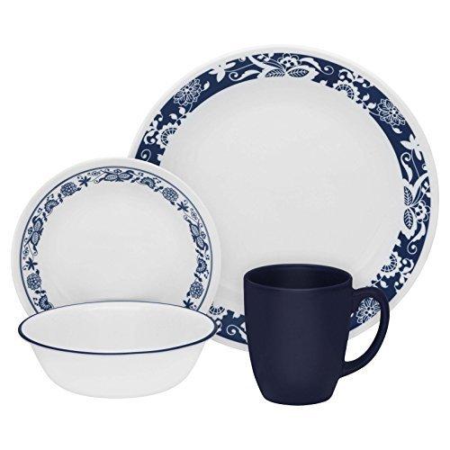 Corelle Livingware True Blue 16-pc Dinnerware Set by Corelle