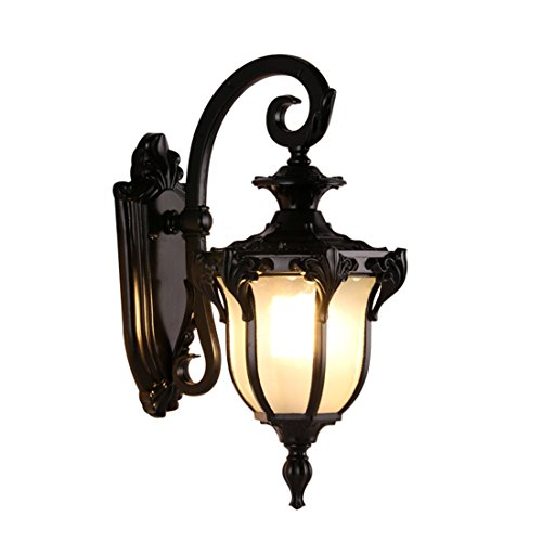 Vintage Cast Iron Porch Light