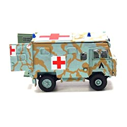 Airfix A02333 1:76 Scale Land Rover 1 Tonne FC Ambulance Military Vehicles Classic Kit Series 2 from Hornby