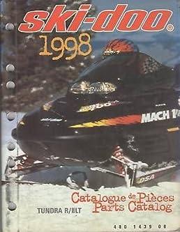 1998 ski doo tundra r ii lt parts manual manufacturer amazon com rh amazon com 2004 ski doo tundra manual ski doo tundra repair manual