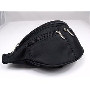 41t6Bt7Y1qL. SS300  - NEW BLACK BUM BAG MONEY WALLET DESIGNED BY LORENZ 2050