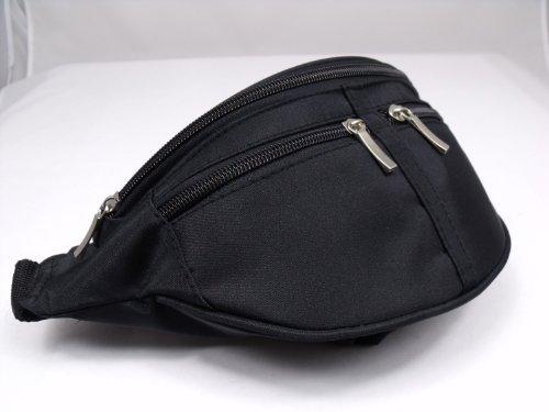 41t6Bt7Y1qL - NEW BLACK BUM BAG MONEY WALLET DESIGNED BY LORENZ 2050
