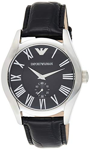 Emporio Armani Classic Analog Black Dial Men's Watch – AR0643