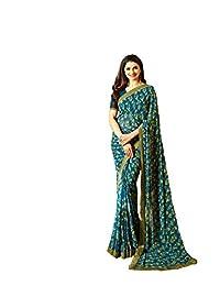 Indian Sari Fashion Designer Ethnic Simple Look Saree Sheesha StarWalk - 34