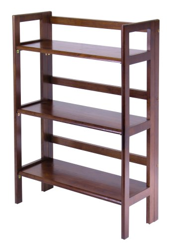 winsome wood stackablefolding shelf 3 tier - Folding Bookshelves