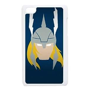 iPod Touch 4 Case White Marvel superhero comic ymmq