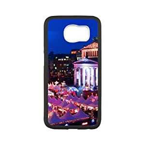 Samsung Galaxy S6 Cell Phone Case Covers White Berlin City as a gift B2362950