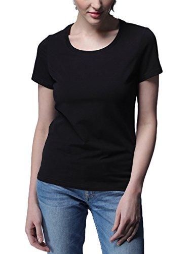 SUNDAYROSE - Camiseta - Mujer Crewneck Black