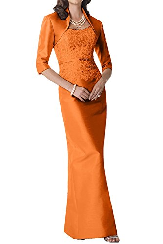 LaMarie Braut Perlen Rosa Brautmutterkleider Taft Abendkleider ...