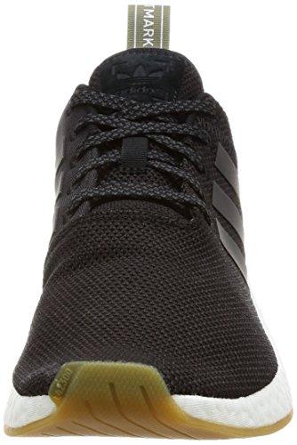 Adidas Originals Nmd_r2 Heren Hardloopschoenen Trainers Sneakers Zwart (negbas / Neguti / Cartra)
