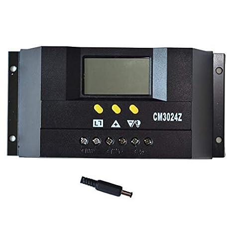 de café de carga solar portátil Controlador PWM cargador de ...