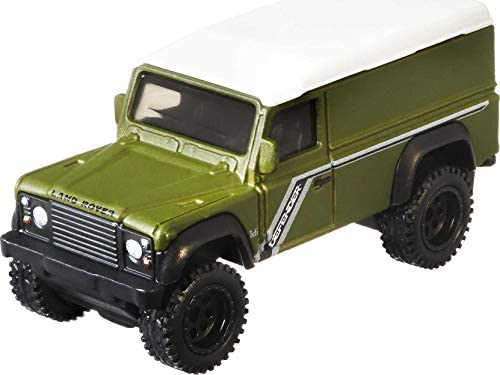 Premium Collection of Car Culture 1:64 Scale Vehicle Hot Wheels Car Culture Circuit Legends Land Rover Defender 110 Panel Vehicle for 3 Kids Years Old /& Up