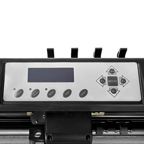 VEVOR Vinyl Cutter 53 inch Plotter Machine 1340mm Paper Feed Vinyl Cutter Plotter Signmaster Software Sign Making Machinewith Stand (53Inch Style 2) by VEVOR (Image #7)