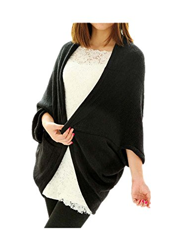 ARJOSA Knitted Batwing Cardigan Sweater
