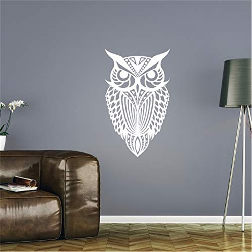 Paofte Wall Quotes Decal Wall Stickers Art Decor French Quote Le Hibou Nocturne The Nocturnal - Nocturne Bedroom
