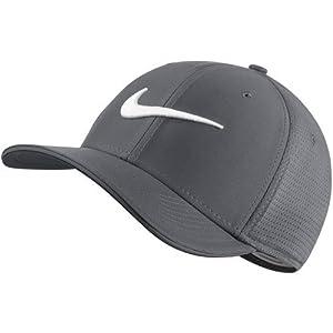 NIKE Unisex Classic 99 Mesh Golf Cap, Dark Grey/Dark Grey/Anthracite/White, X-Small/Small