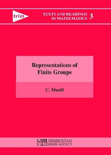 Representations of Finite Groups (Texts and Readings in Mathematics)