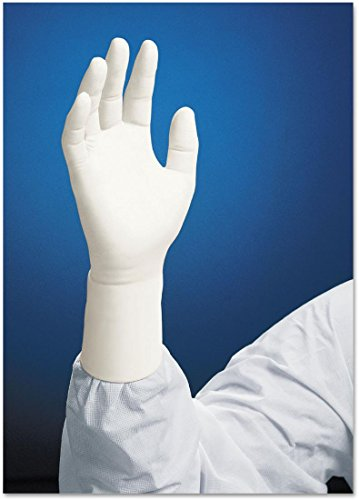 Kimberly-Clark Kimtech Pure G3 White Small Nitrile Disposable General Purpose & Examination Gloves - Rough Finish - 12 in Length - 62991 [PRICE is per BOX] by Kimberly-Clark